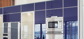 Kitchens > Completed Projects > Blue Kitchen, Carlingford