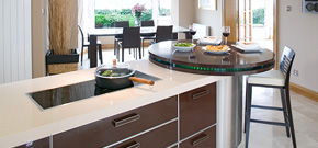 Kitchens > Completed Projects > Glass Kitchen, Warrenpoint